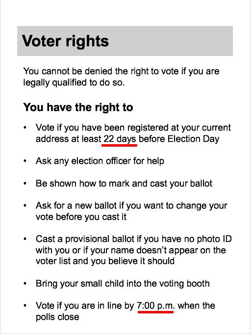 official ballot template