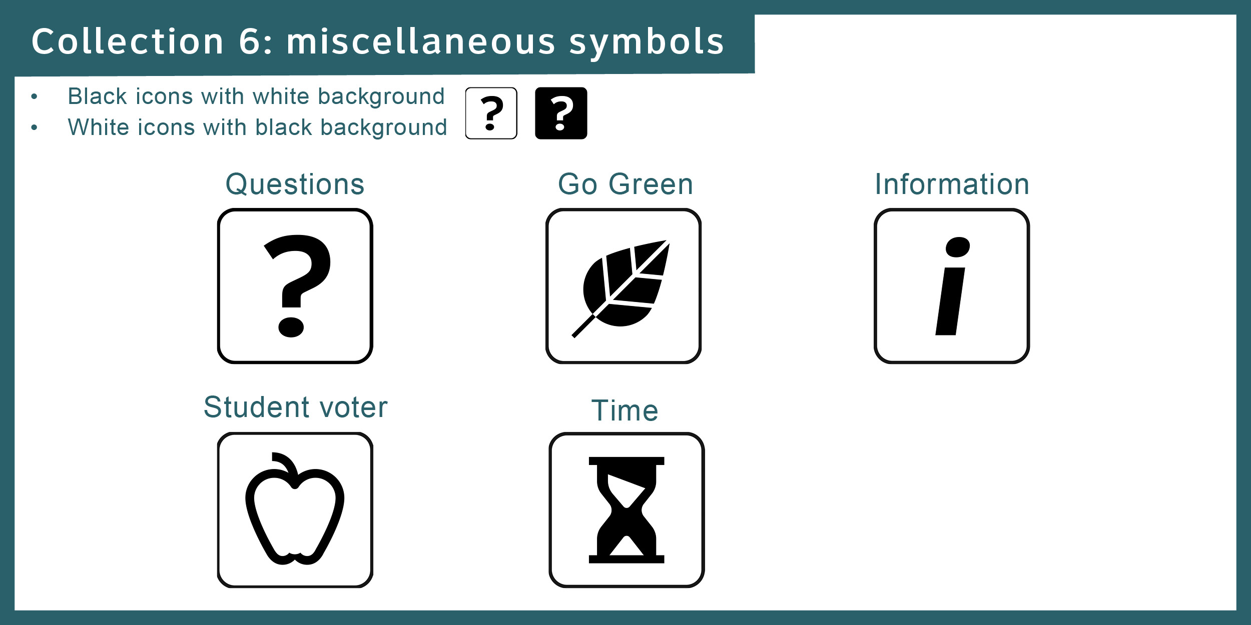 Civic icons and images : Election Tools